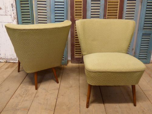Lovely 1950s Cocktail Chairs - £125 each